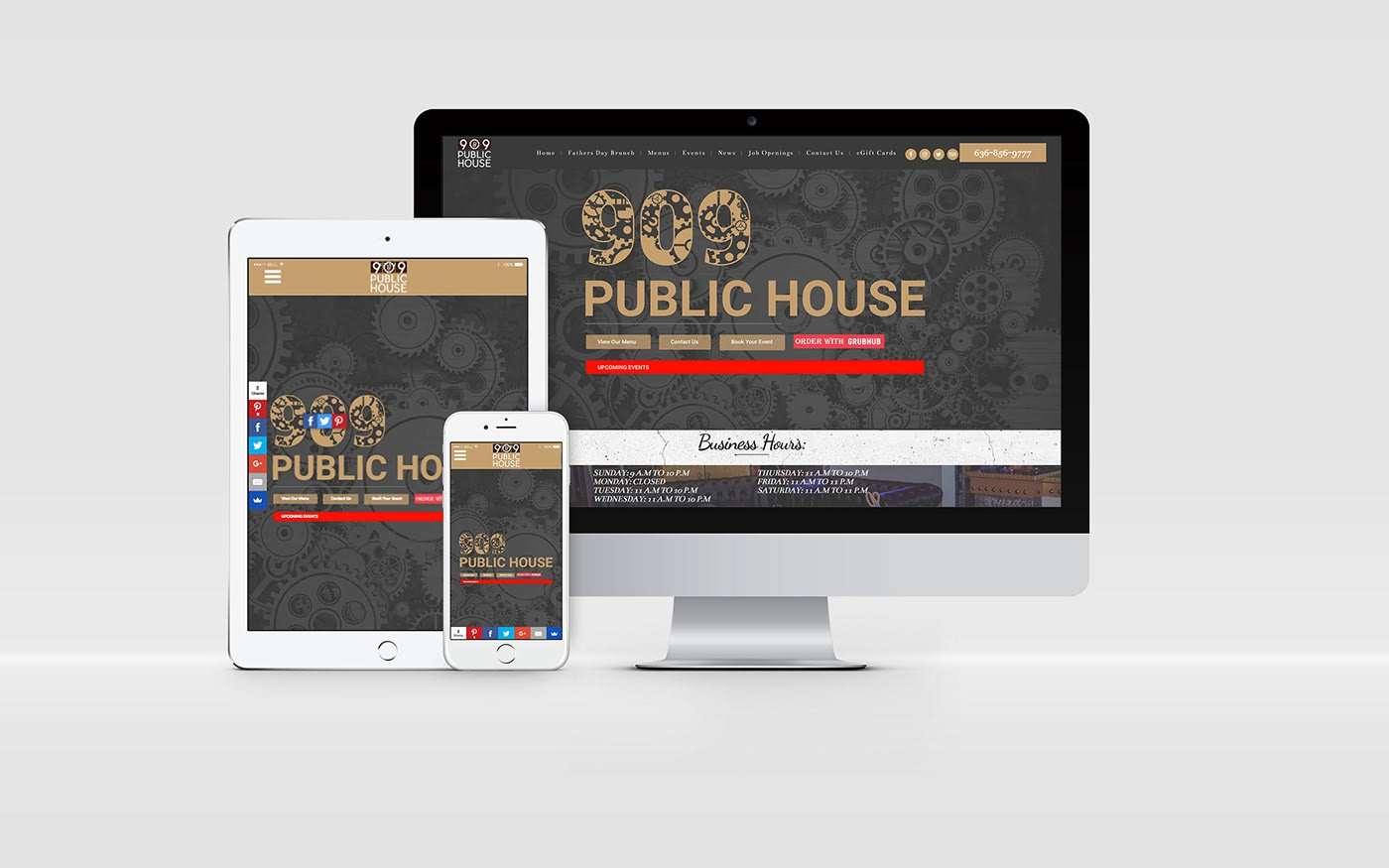 909 public house web development st louis