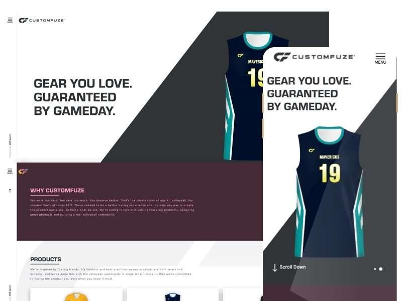 customfuze-website