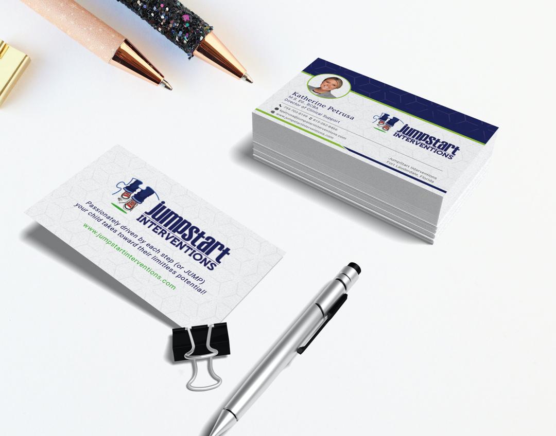 jumpstart business cards