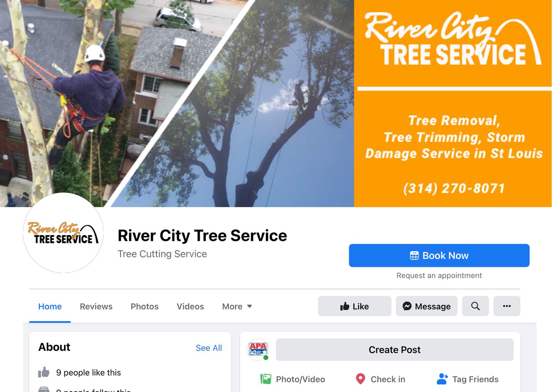 River city tree services St Louis